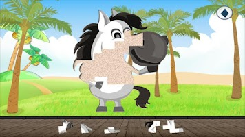 Screenshot of Animal Puzzle for Toddlers kid
