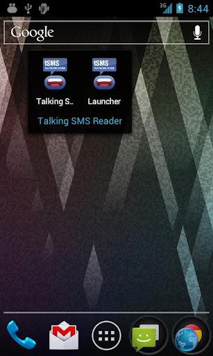 Talking SMS Reader