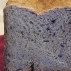 Banana-Blueberry Bread Machine Bread