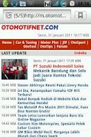 Screenshot of Otomotifnet Web Launcher