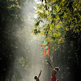 Jump by Pimpin Nagawan - Babies & Children Children Candids
