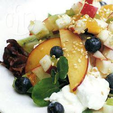 Summer Fruity Cottage Cheese Salad