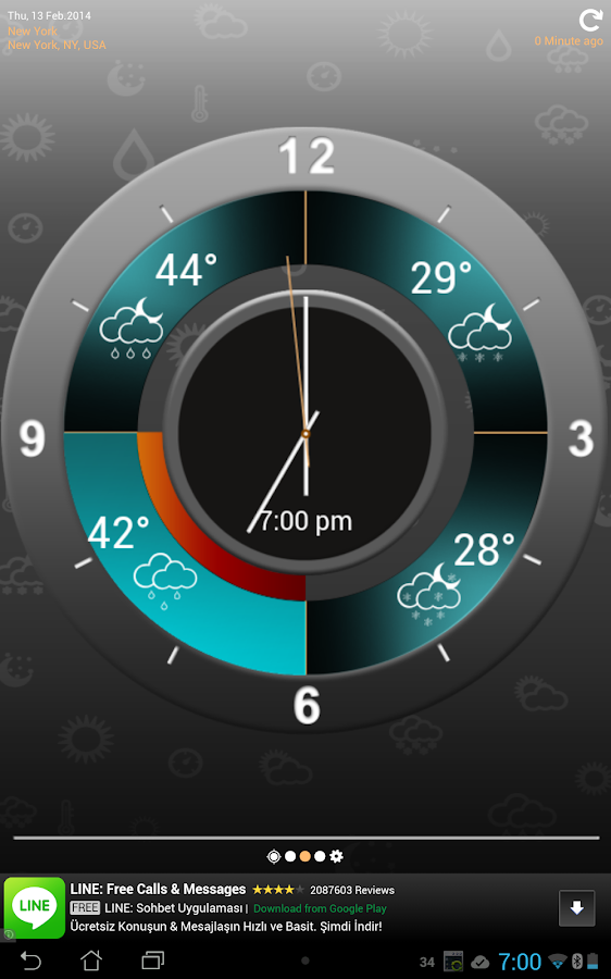 Weather Clock Screenshot 10