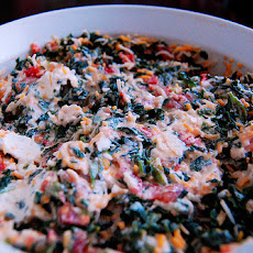 Rich and Creamy Spinach Vegetable Dip