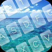 Free Ocean Emoji GO Keyboard Theme APK for Windows 8