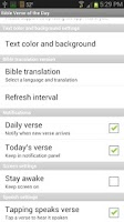 Screenshot of Bible Daily Verses & Devotions