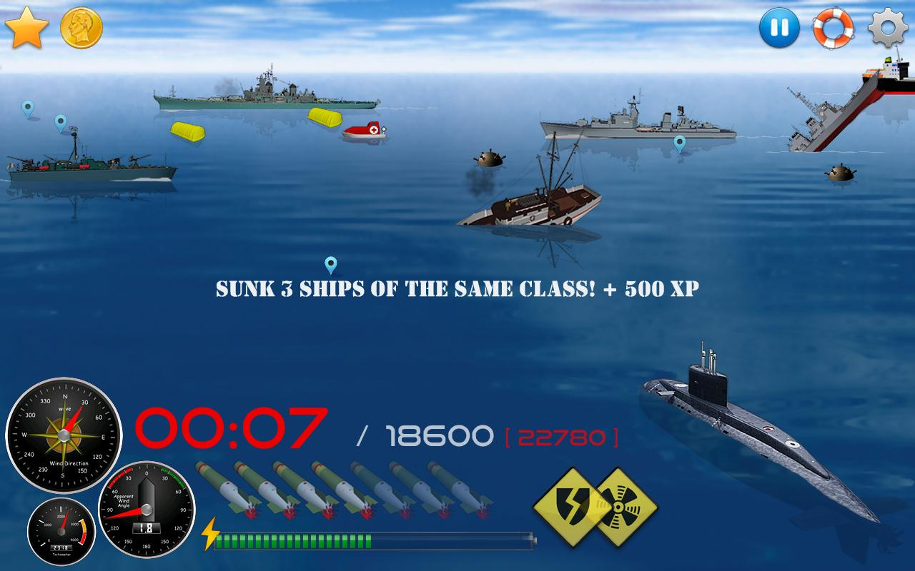 Silent Submarine 2HD Simulator Screenshot 15