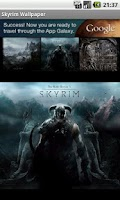 Screenshot of Skyrim Wallpapers