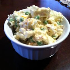 Ginny's Cauliflower and Pea Salad