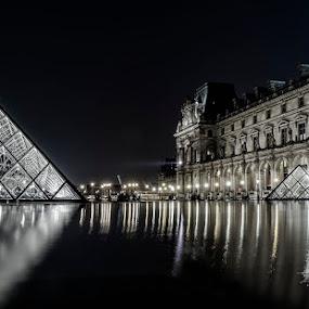Louvre by Ivan Bertusi - Buildings & Architecture Architectural Detail ( louvre, parigi, francia, d7100, parigi 2014 )