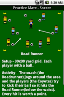 Screenshot of Soccer Practice Drills - U6