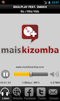 Screenshot of Mais Kizomba