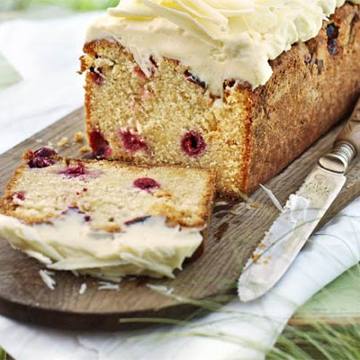 White Chocolate & Cherry Loaf