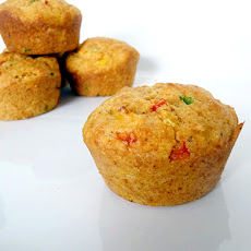 Savory Corn and Pepper Muffins