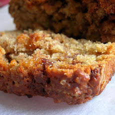 Whole Wheat Peanut Butter-Banana Bread With Chocolate Chips