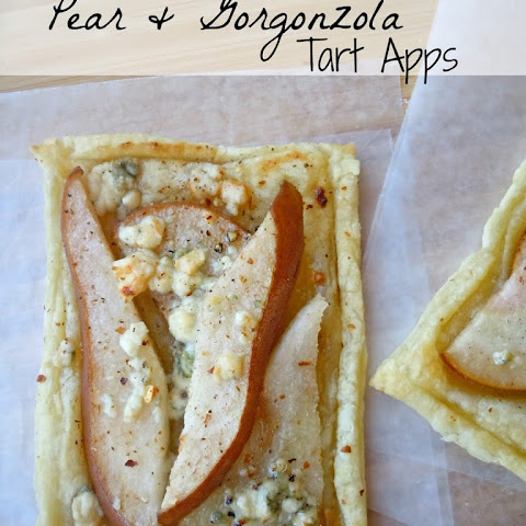 Pear & Gorgonzola Tart Apps