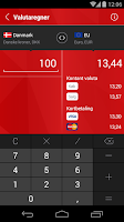 Screenshot of Skjern Banks Mobilbank