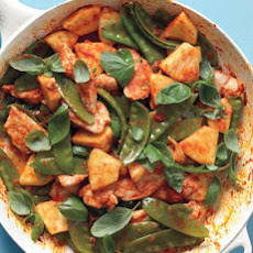 Red-Curry Chicken Stir-Fry