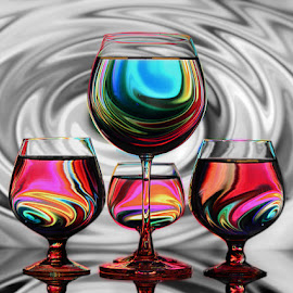 Swirls.. by Rakesh Syal - Artistic Objects Glass (  )