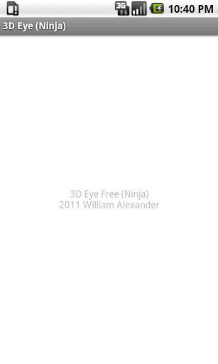 3D Eye Free Ninja