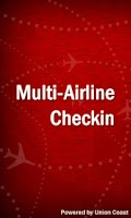 Screenshot of Airline Checkin