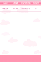 Screenshot of Babykick Tracker-Free