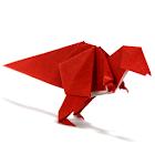 Origami Dinosaur 11 icon