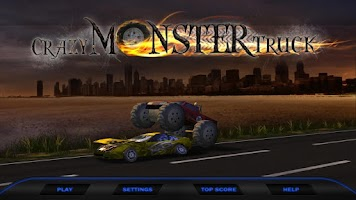 Screenshot of Crazy Monster Truck Smasher