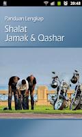 Screenshot of Panduan Shalat Jamak Qashar