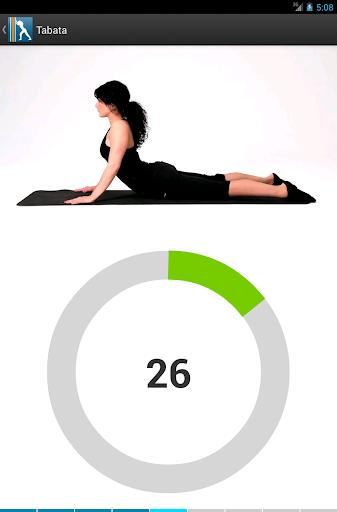 Virtual Trainer Stretch - screenshot