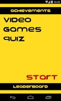 Screenshot of Video games quiz