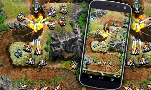 Galaxy Defense - Strategy Game - screenshot