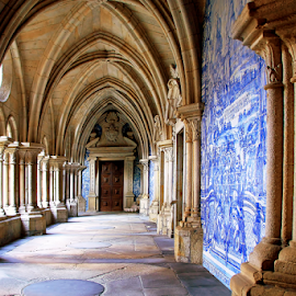 Cloister path by Antonio Amen - Buildings & Architecture Other Exteriors ( tiles, archs, path, cloistaer )