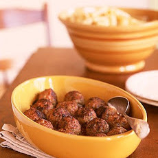Meatballs with Rigatoni