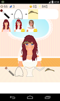 Screenshot of bride dress up games