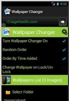 Screenshot of Wallpaper Changer Auto