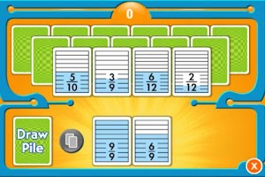 Screenshot of Everyday Math Equiv. Fractions