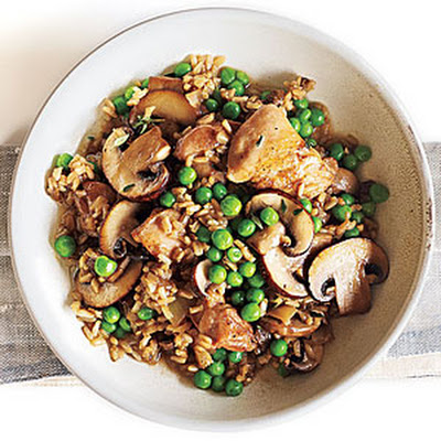 Chicken and Rice with Mushrooms