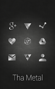 Tha Metal - Icon Pack- screenshot thumbnail