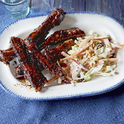 Sticky Glazed Ribs