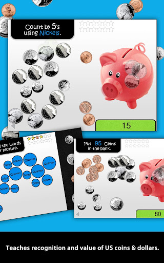 Learning Gems - My Piggy Bank - screenshot