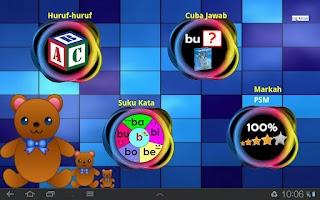 Screenshot of Belajar Suku Kata