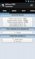 Screenshot of biSoru Bilgi Yarışması