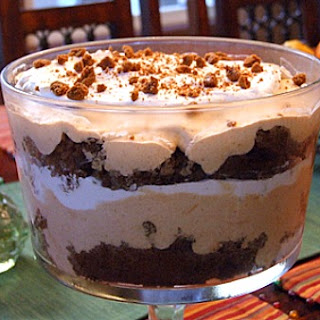 Pumpkin- Gingerbread Trifle