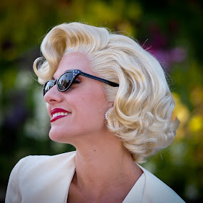 aka Marilyn by Felbert Edrada - People Portraits of Women