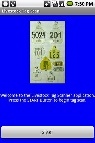 Livestock Barcode Tag Scanner