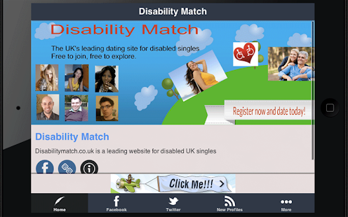 Uk disabled dating totally free