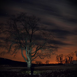 Lonely Shadows by Urban Xploration - Landscapes Prairies, Meadows & Fields ( sky, nature, long exposure )