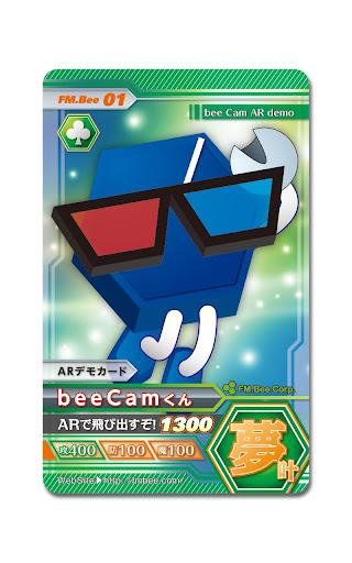 beeCam AR Card