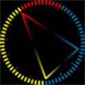 Trigon clock (live wallpaper) icon
